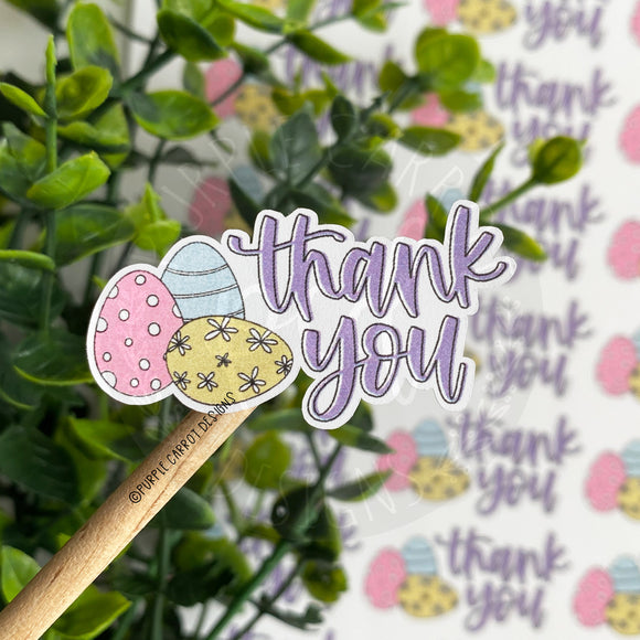 Easter Egg Thank You Sticker©
