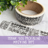 Thank You Packing Tape©