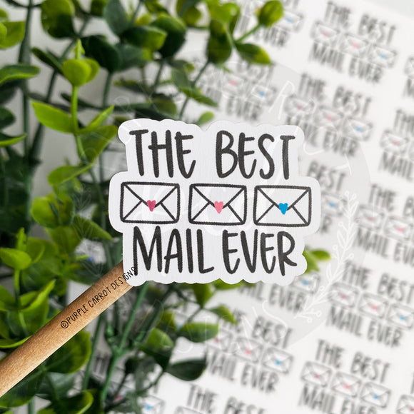 Best Mail Ever Envelopes Sticker©