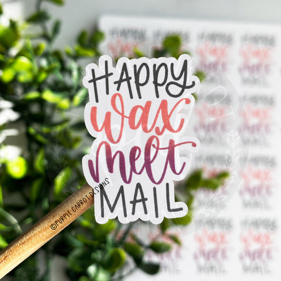 Happy Wax Melt Mail© Sticker