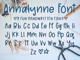 Handwritten Font - Commercia Use - Do Not Use Coupon