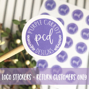 Return Logo Sticker Customers ONLY
