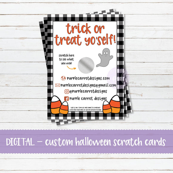 Trick or Treat Scratch Card