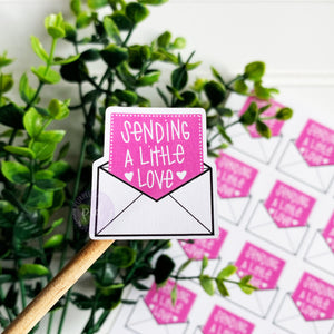 Sending Love Sticker
