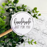 Handmade Just For You Sticker