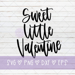 Sweet Little Valentine SVG