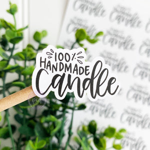 Handmade Candle Sticker