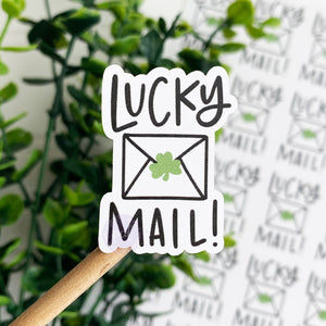 Lucky Mail Sticker