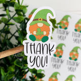 Thank You St Patrick Gnome Sticker