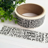 Happy Mail Packing Tape, Washi Tape, Happy Mail Tape, Happy Mail Packaging, Masking Tape, Product Packaging, Masking Tape, Small Shop Tape