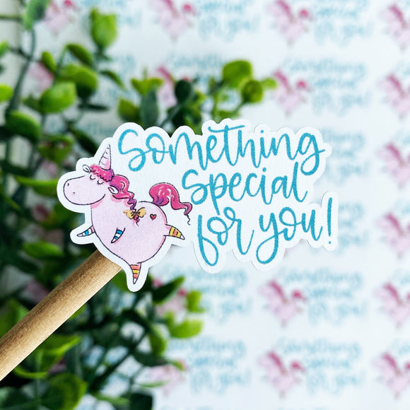 Something Special Unicorn Sticker