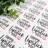 Lipstick Mail Sticker