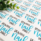Nail Mail Sticker