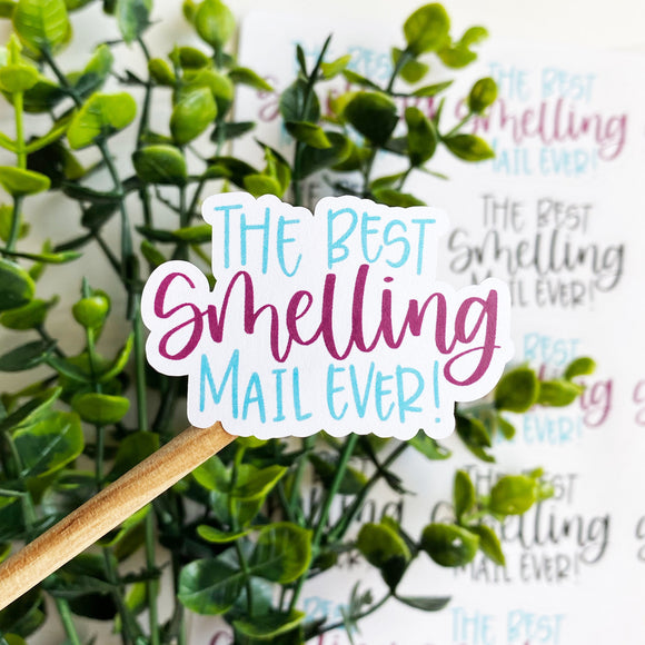 Best Smelling Mail Ever Sticker