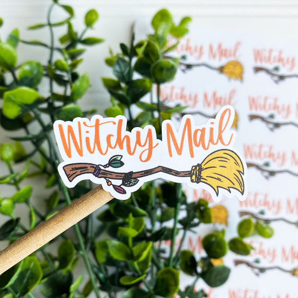 Witchy Mail Sticker