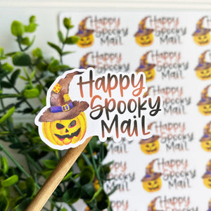 Happy Spooky Mail Sticker