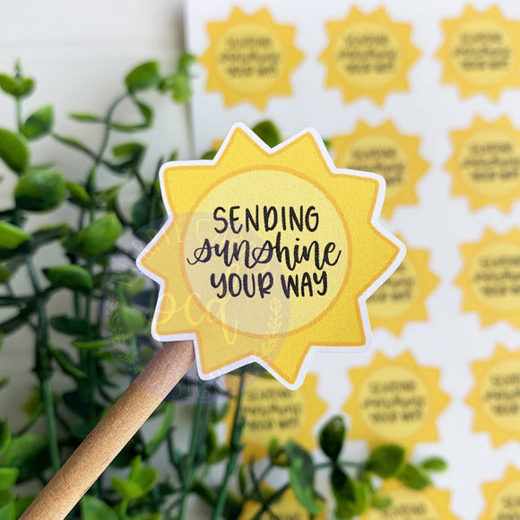 Sending Sunshine Sticker