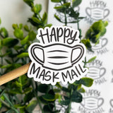 Mask Mail Sticker