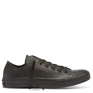 Converse All star lo - Black mono Leather - Buy Online at Northern Shoe Store