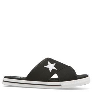 Converse one star slide - black/white - Buy Online at Northern Shoe Store