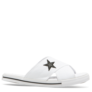 converse one star slide - White/black - Buy Online at Northern Shoe Store