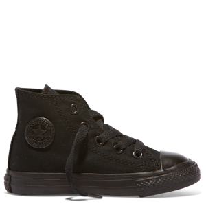 Infant All Star Hi Con - Black Mono - Buy Online at Northern Shoe Store
