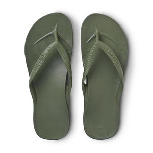 Archies arch support thongs - Khaki