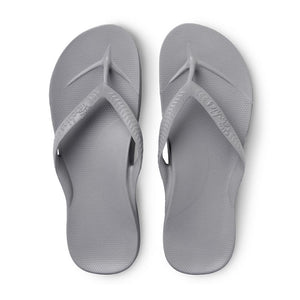 Archies arch support thongs - grey