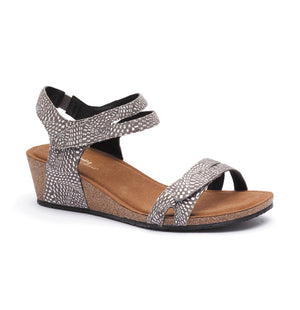 Silver Lining Kimberly - Taupe Print - Buy Online at Northern Shoe Store