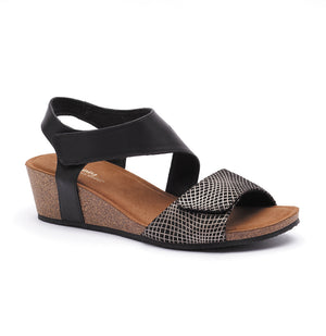 Silver Lining Kyra - Black Print - Buy Online at Northern Shoe Store