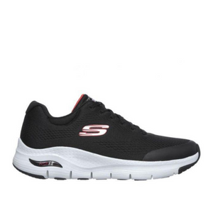 SKECHERS ARCH FIT MENS - BLACK/RED