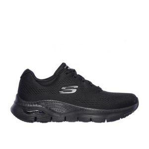 SKECHERS ARCH FIT WOMENS SUNNY OUTLOOK - BLACK/BLACK