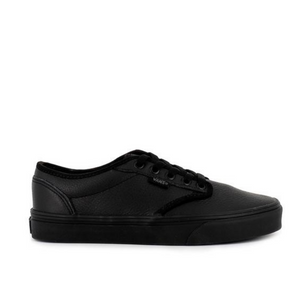VANS ATWOOD LEATHER MENS - BLACK MONO LEATHER