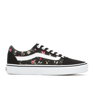 VANS WARD WOMENS - FLORAL DOTS