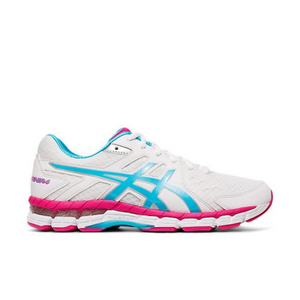 ASICS GEL RINK SCORCHER 4 WOMENS BOWLS SHOE - WHITE/BLUE