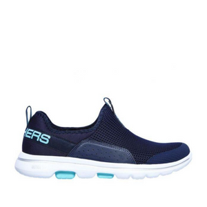 SKECHERS GO WALK 5 SOVERIGN - NAVY/AQUA