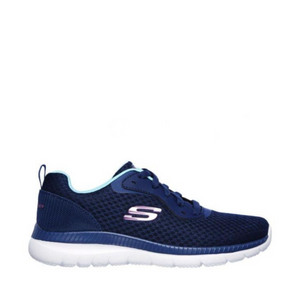 SKECHERS BOUNTIFUL QUICK PATH - NAVY/BLUE