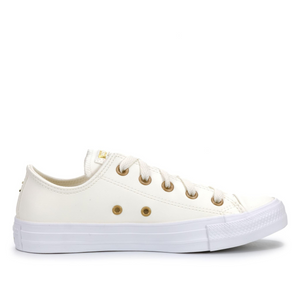 CONVERSE CT SEASONAL LOW - EGRET/GOLD