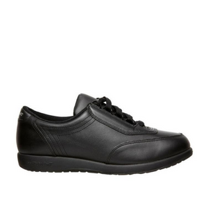 HUSH PUPPIES CLASSIC WALKER - BLACK LEATHER