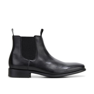 HUSH PUPPIES WISCONSIN - BLACK BURNISHED