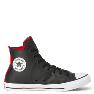 converse ct faux lth hi - black/red - Buy Online at Northern Shoe Store