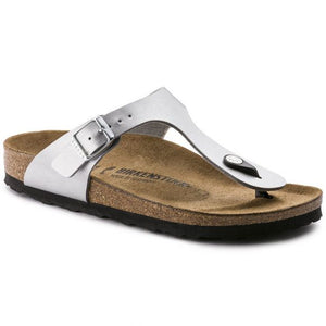Birkenstock Gizeh Flor - Silver - Buy Online at Northern Shoe Store