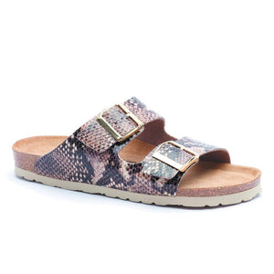 Silver Ling Hawaii Print - Snake Brown - Buy Online at Northern Shoe Store