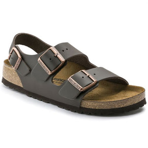 Birkenstock Milano Leather Birkey - Dark Brown - Buy Online at Northern Shoe Store