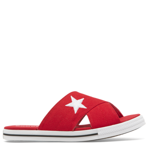 Converse one star slide - red - Buy Online at Northern Shoe Store