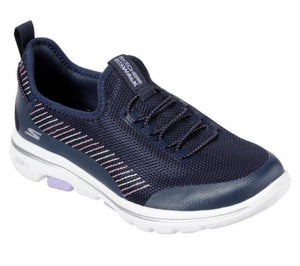 Skechers go walk 5 prolific - Navy/lav - Buy online at northern shoe store