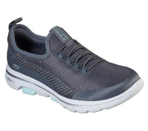 Skechers go walk 5 prolific - charcoal - Buy online at northern shoe store