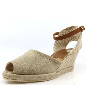 Dianna Ferrari Tressa - Beige Canvas - Buy Online at Northern Shoe Store