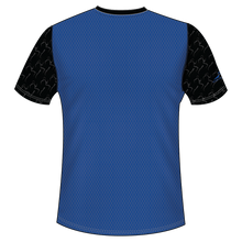 Load image into Gallery viewer, Run With Gina ELITE Blue Performance Short Sleeve Shirt *PREORDER*
