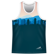 Load image into Gallery viewer, Run With Gina Cityscape ELITE Performance Singlet *PREORDER*